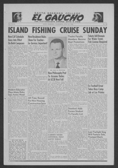 El Gaucho, July 16, 1948 - Alexandria Digital Research